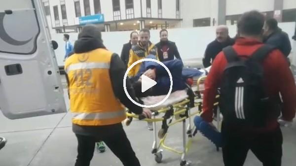Altınordulu Oğulcan Ülgen'in Rizespor maçında ayağı kırıldı