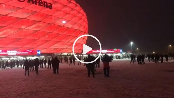 Bayern Münih - Beşiktaş maçı öncesi stat çevresi
