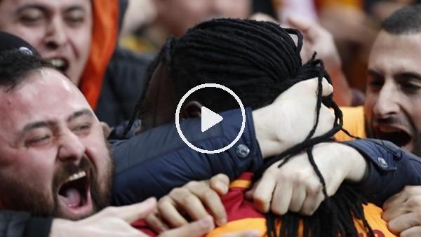 Gomis'in golünde Galatasaray taraftarı