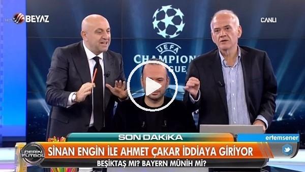 "Ahmet Çakar'dan müthiş iddia! ""Beşiktaş, Bayern Münih'i elerse....."""
