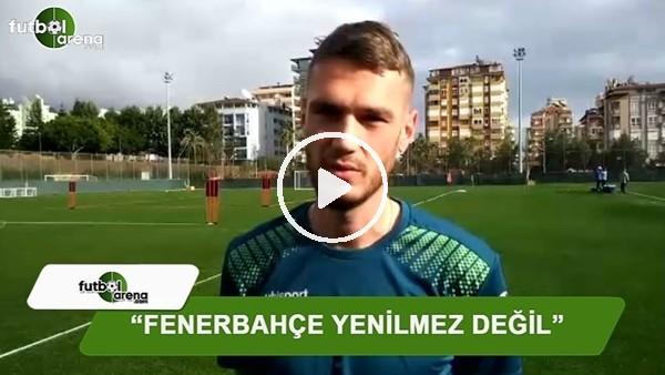 """Barış Başdaş: """"Fenerbahçe yenilmez değil"""""""