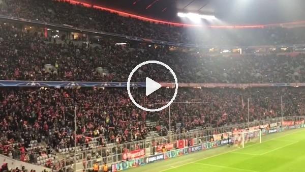 Bayern Münih - Beşiktaş maçı öncesi tribünler