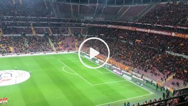 """Galatasaray - Antalyaspor maçında """"Şehitler ölmez vatan bölünmez"""" tezahüratı"""