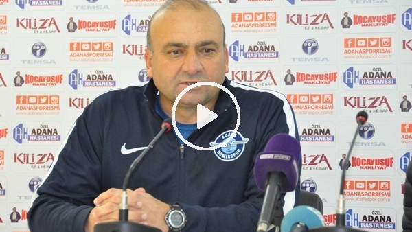 """Mustafa Uğur: """"Oyuncularımı gönülden kutluyorum"""""""
