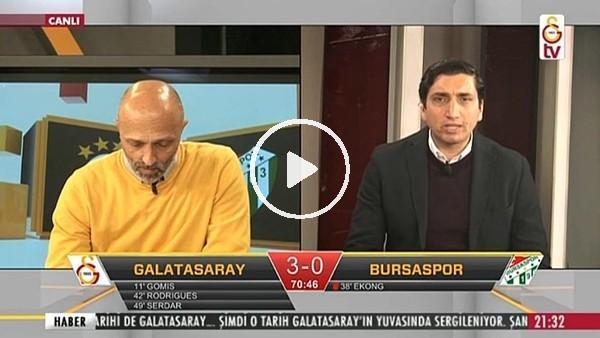 Gomis'in Bursaspor'a attığı 2. golde GS TV!