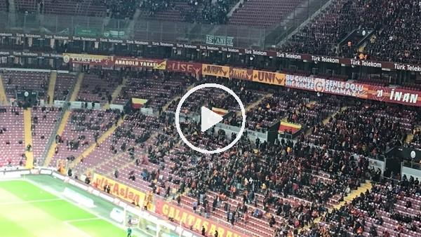 Galatasaray taraftarı tezahüratlarla TFF'yi protesto etti