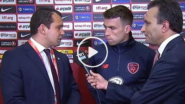 """Coleman: """"Cenk Tosun bu maçta da çok iyi oynadı"""""""