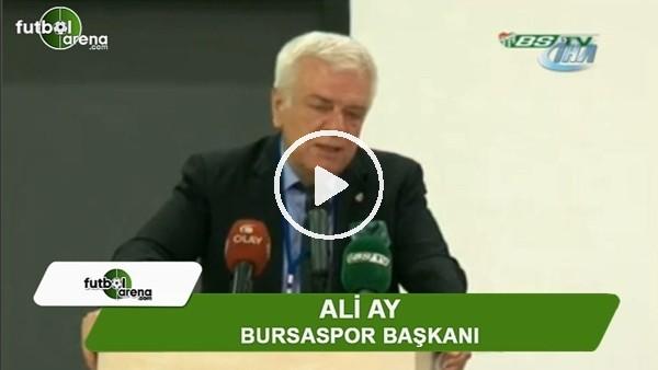 "Ali Ay: ""Sow transferinde hata yaptık"""