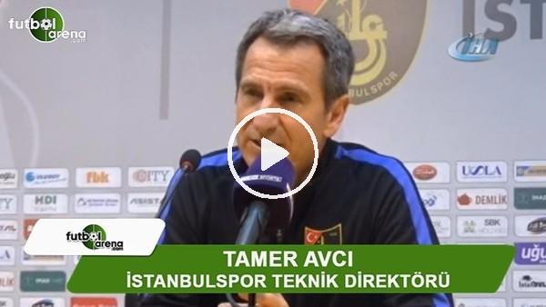 "Tamer Avcı: ""Tek sevindirici nokta, iyi oynamamız"""
