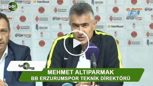 """Mehmet Altıparmak: """"Kazanmak adına her şeyi yaptık"""""""