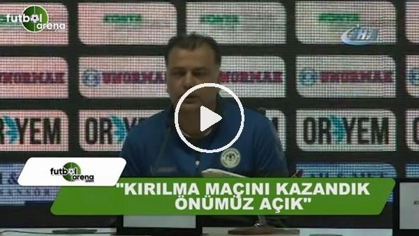 """Konyaspor yardımcı antrenörü Murat Şahin: """"Önümüz açık"""""""