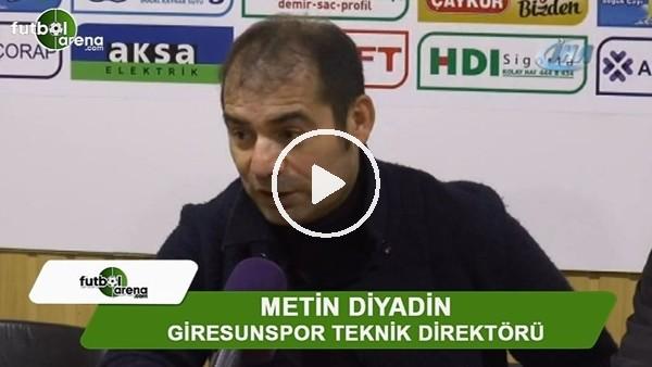 """Metin Diyadin: """"Play-Off yüzde 20 gibi"""""""