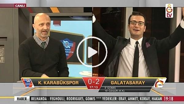 Art arda gelen goller GS TV spikerlerini coşturdu!