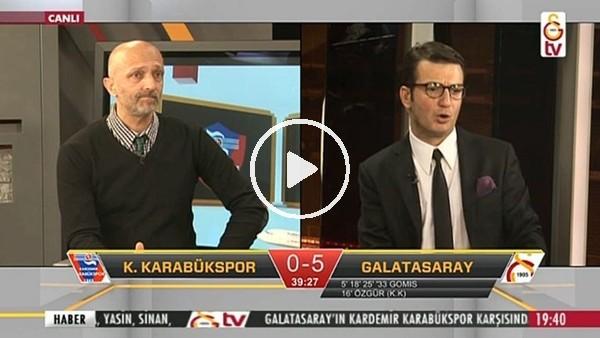 Garry Rodrigues'in Karabükspor'a attığı golde GS TV!