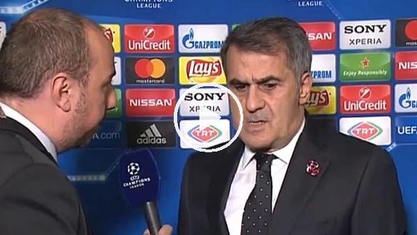 """Şenol Güneş: """"Bayern Münih maçından en az kayıpla ayrılmak istiyoruz"""""""