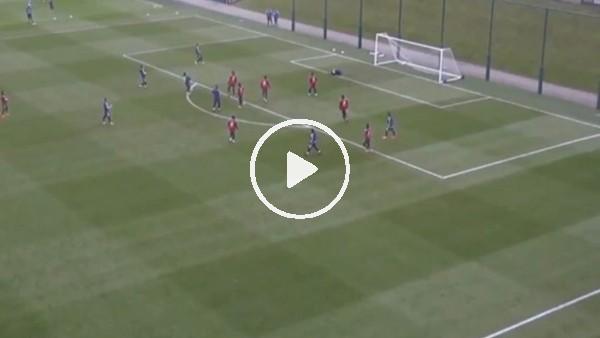 Lionel Messi'den antrenmanda muhteşem gol