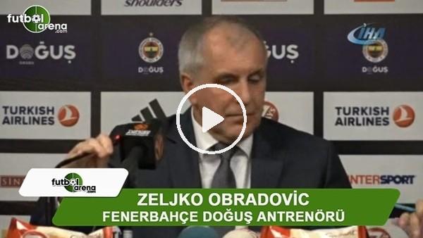 """'Obradovic: """"Savaşmaya devam etmemiz gerekiyor"""""""