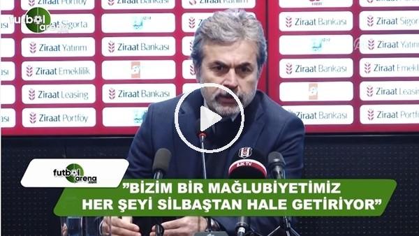 """Aykut Kocaman: """"Bizim 1 mağlubiyetimiz her şeyi sil baştan hale getiriyor"""""""