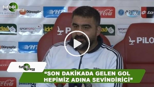 """Ümit Özat: """"Son dakikada gelen gol hepimiz adına sevindirici"""""""