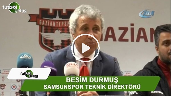 """Besim Durmuş: """"Büyük bir avantaj kaybettik"""""""