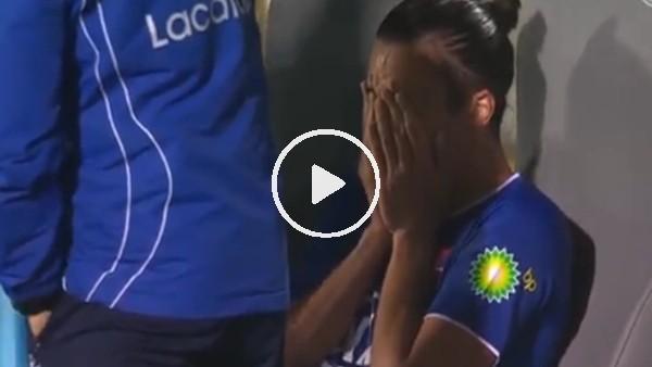 Astori'nin ölüm haberini alan Bakic ağlayarak maçtan çıktı