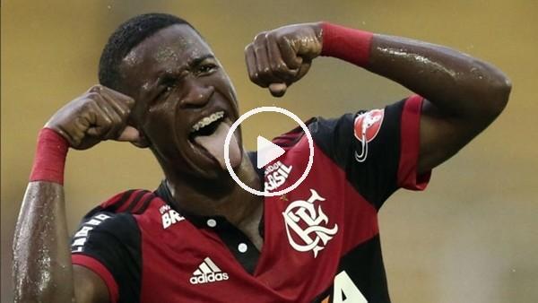 Vinicius Junior yine yaptı yapacağını!