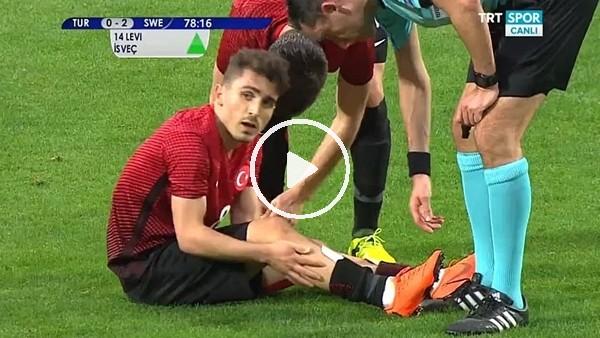 Abdülkadir Ömür milli maçta sakatlandı