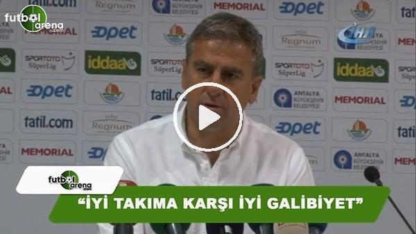 """Hamza Hamzaoğlu: """"İyi takıma karşı iyi galibiyet"""""""
