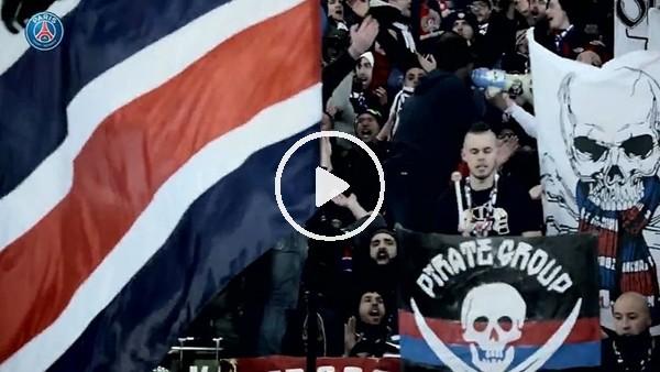 PSG taraftarı Real Madrid maçına hazırlanıyor