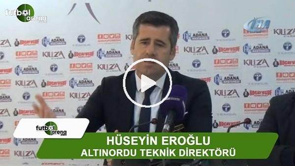"""Hüseyin Eroğlu: """"Üst sıralara bir adım daha yaklaştık"""""""