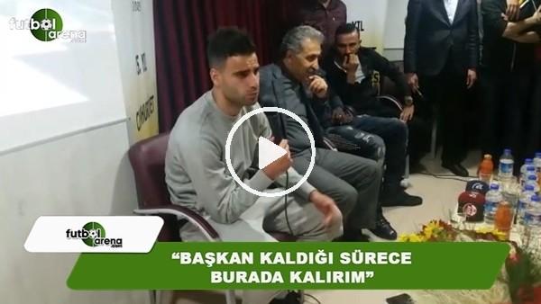"""Deniz Türüç: """"Başkan kaldığı sürece Kayserispor'da kalırım"""""""