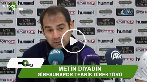 """'Metin Diyadin: """"Play-off hesabı yapabilmek için bir seri yapmak durumundayız"""""""