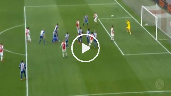 Ajax maçında tarihi karambol ve gol!