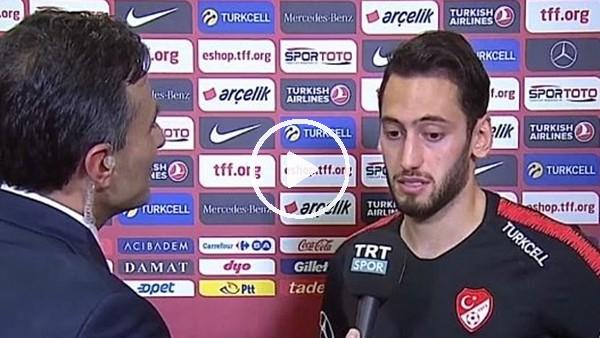 """Hakan Çalhanoğlu: """"Her turnuvaya katılmak istiyoruz"""""""