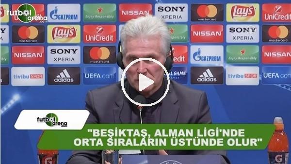 """Jupp Heynckes: """"Beşiktaş, Alman Ligi'nde orta sıraların üstünde olur"""""""