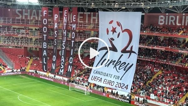 Türkiye - İrlanda maçında Euro 2024 koreografisi