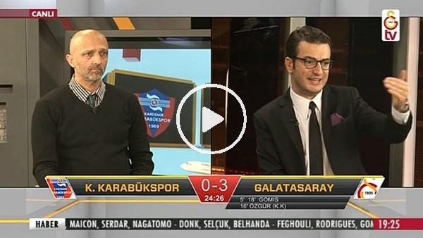 Gomis'in hat-trick golünde GS TV!