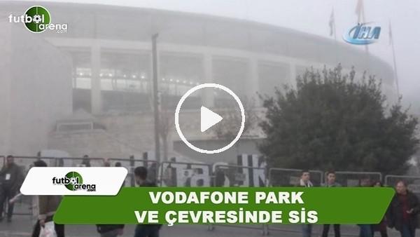 Vodafone Park ve çevresinde sis