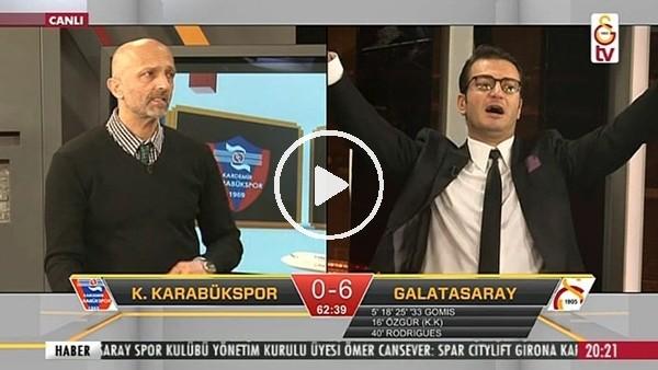 Sinan Gümüş'ün Karabükspor'a attığı golde GS TV!