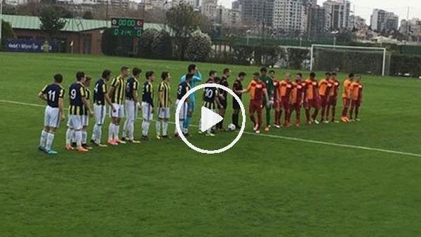 U21 Ligi - Fenerbahçe 2-1 Galatasaray (Maç özeti ve golleri)