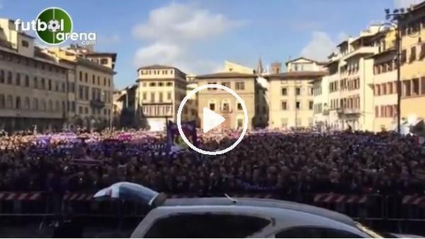 'Davide Astori'nin cenaze töreni yapıldı