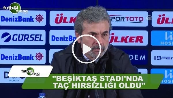 """Aykut Kocaman: """"Beşiktaş Stadı'nda taç hırsızlığı oldu"""""""
