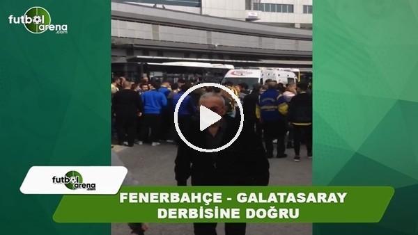 Fenerbahçeli taraftarlar stat çevresinde toplanamya başladı