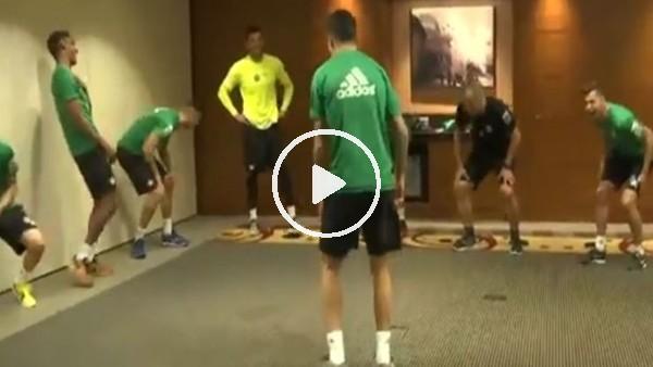 Real Betis'in antrenman tarzı akım oldu!