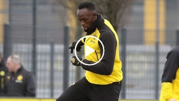 Borussia Dortmund'un yeni forveti Usain Bolt!