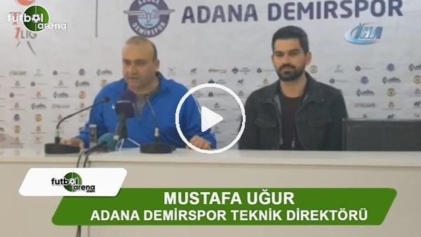 """Mustafa Uğur: """"Alt sıralardan kurtulacağız"""""""