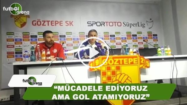 """Hamza Hamzaoğlu: """"Mücadele ediyoruz ama gol atamıyouz"""""""