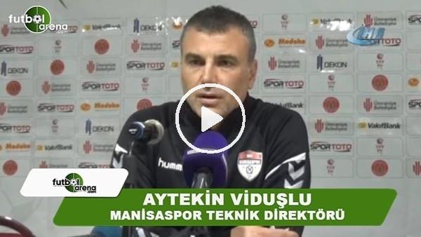 """'Aytekin Viduşlu: """"Türk futboluna yetiştirici bir Manisaspor olacağız"""""""