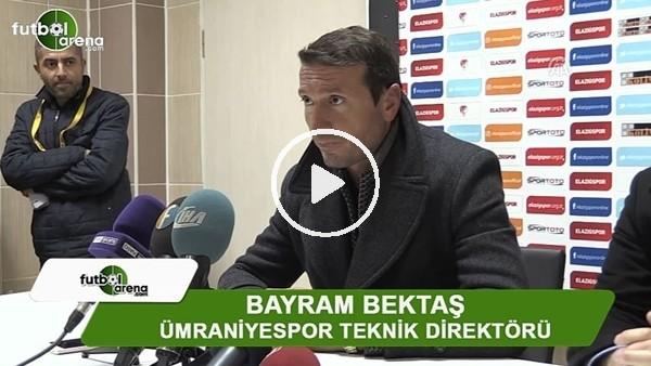 """Bayram Bektaş: """"Yenildik, tabii ki üzgünüz, kazanmak için gelmiştik"""""""
