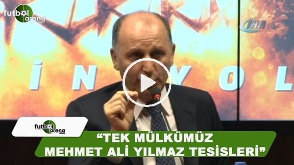 """Muharrem Usta: """"Tek mülkümüz Mehmet Ali Yılmaz tesisleri"""""""